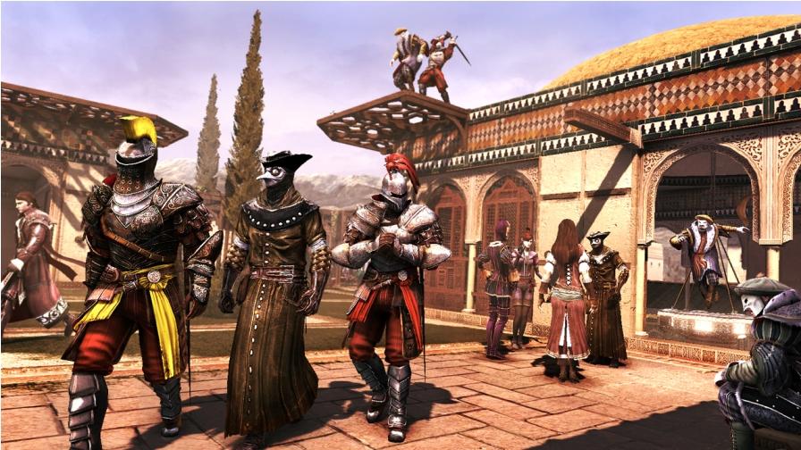 ACB DLC3 MP 11 VIP KnightsProtectingDoctor