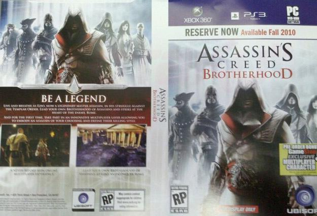AssassinCreedBrotherhood Jaquette