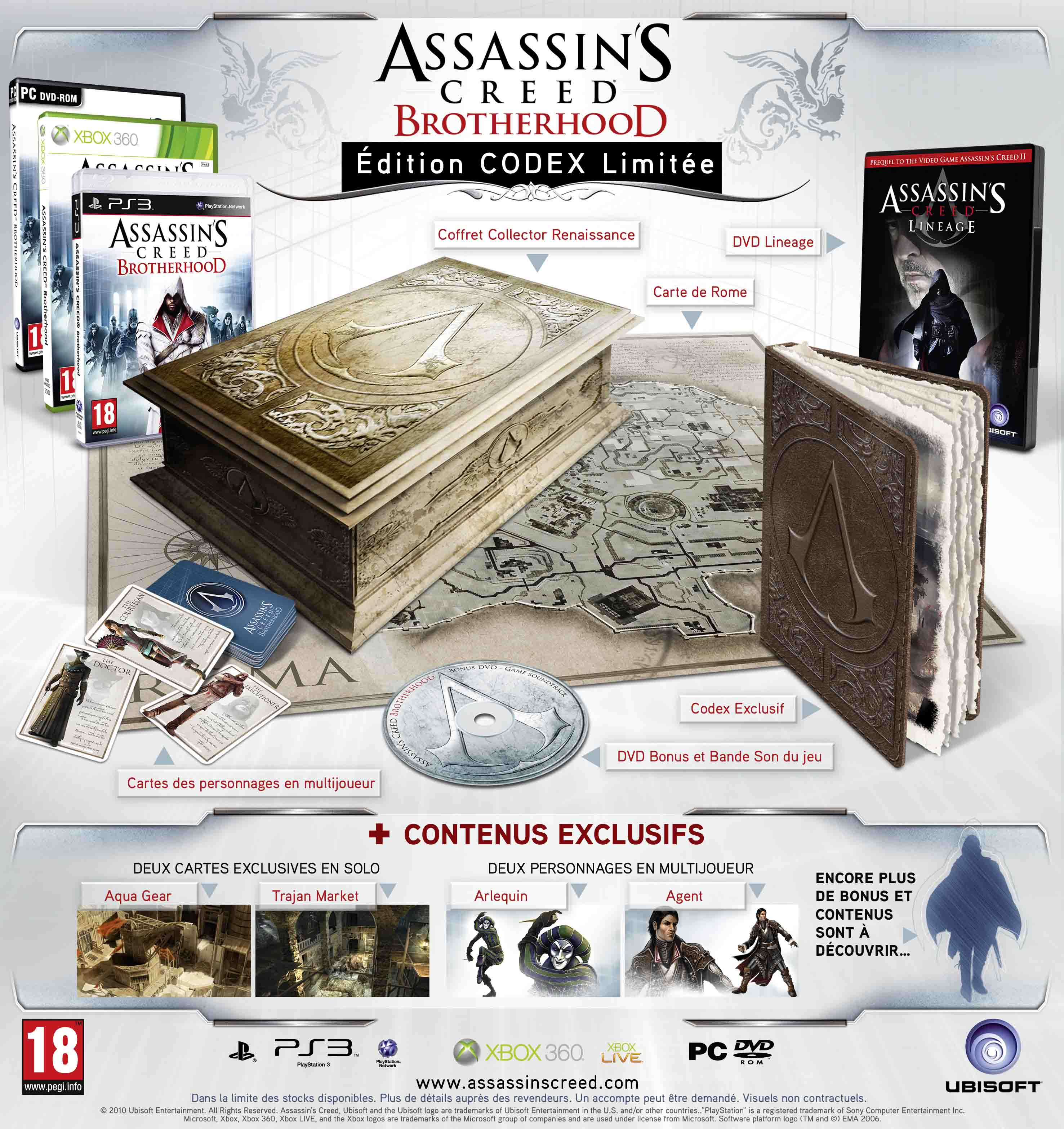 AssassinCreedBrotherhood-Collector Europe