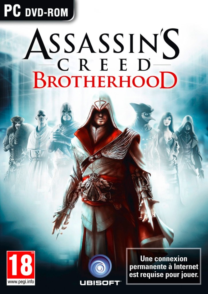 Assassin Creed Brotherhood PC FR 2D