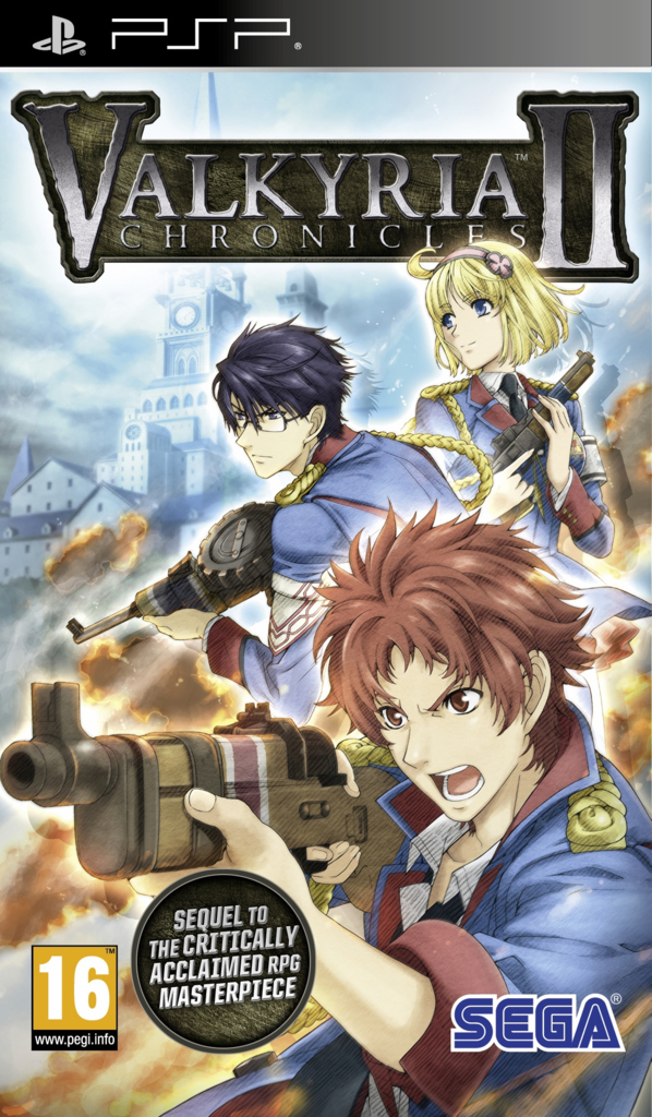 ValkyriaChroniclesII PSP Jaquette