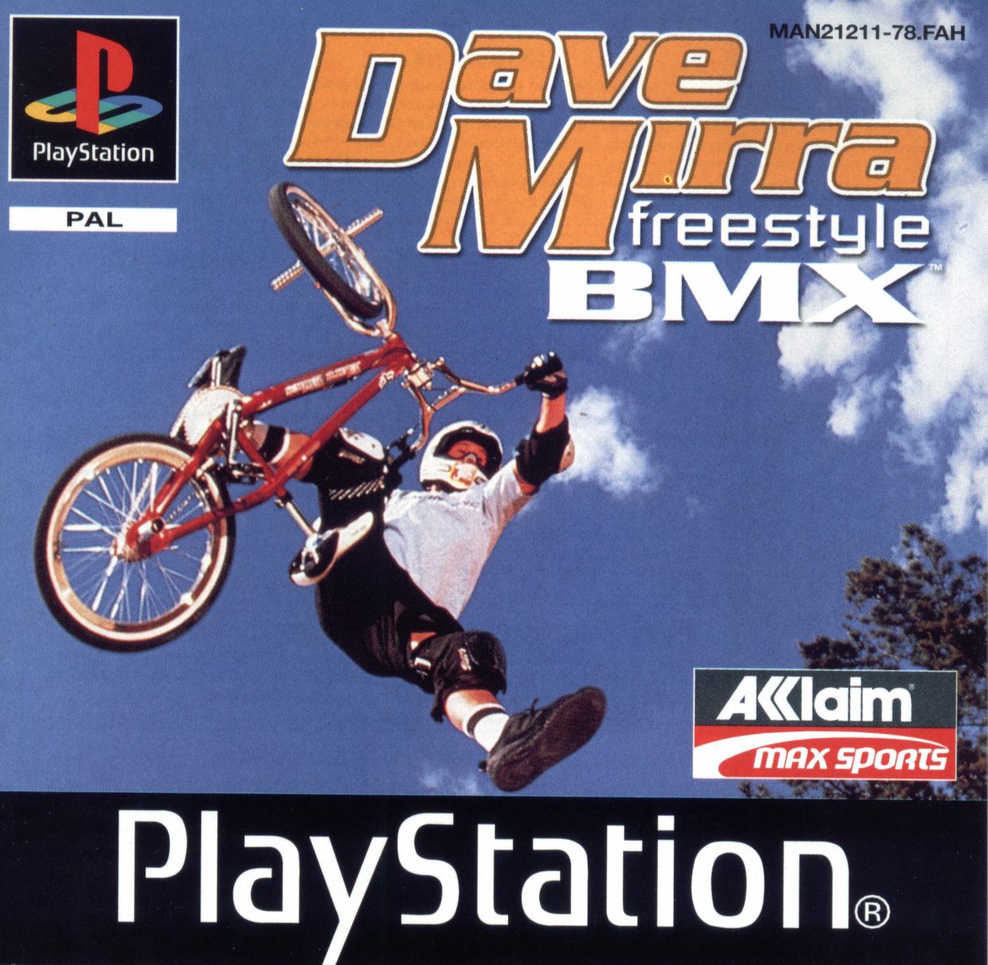 Dave Mirra Freestyle Bmx PS Jaquette