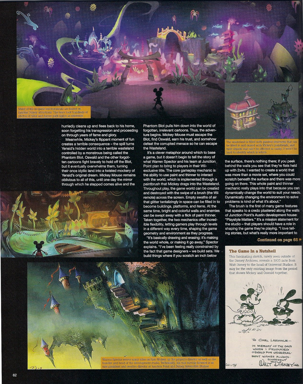 EpicMickey Scans GameInformer 03