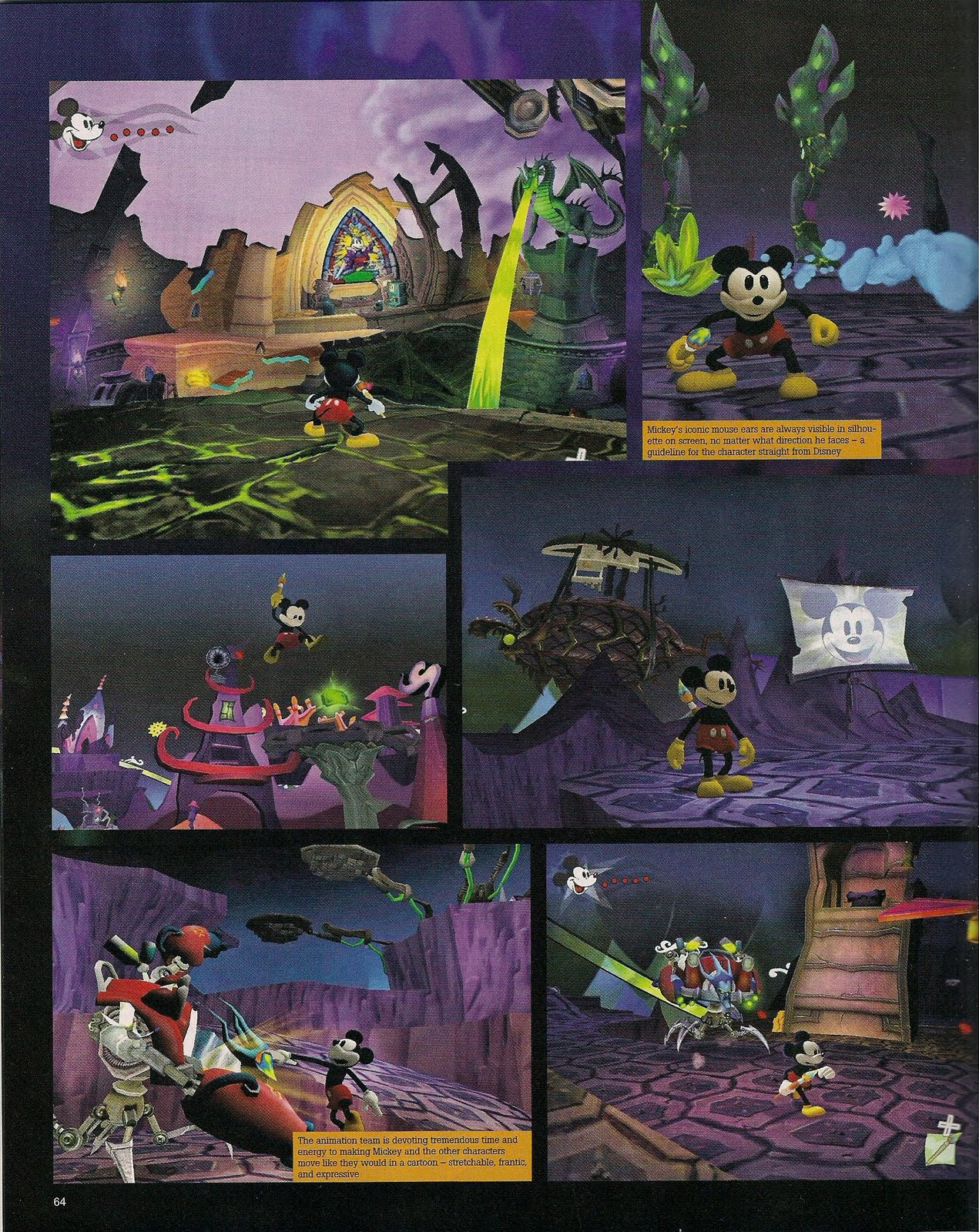EpicMickey Scans GameInformer 04
