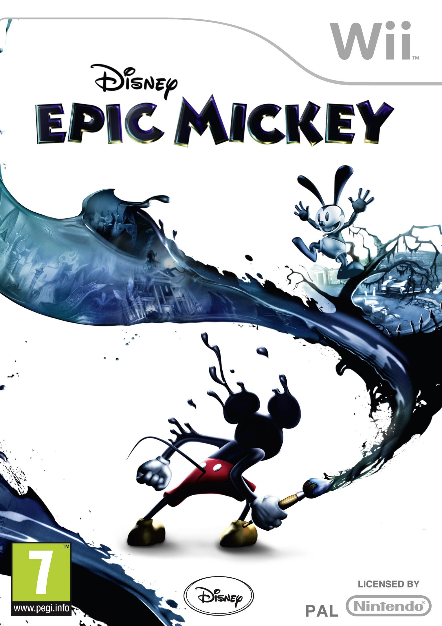 Epic Mickey Wii Jaquette