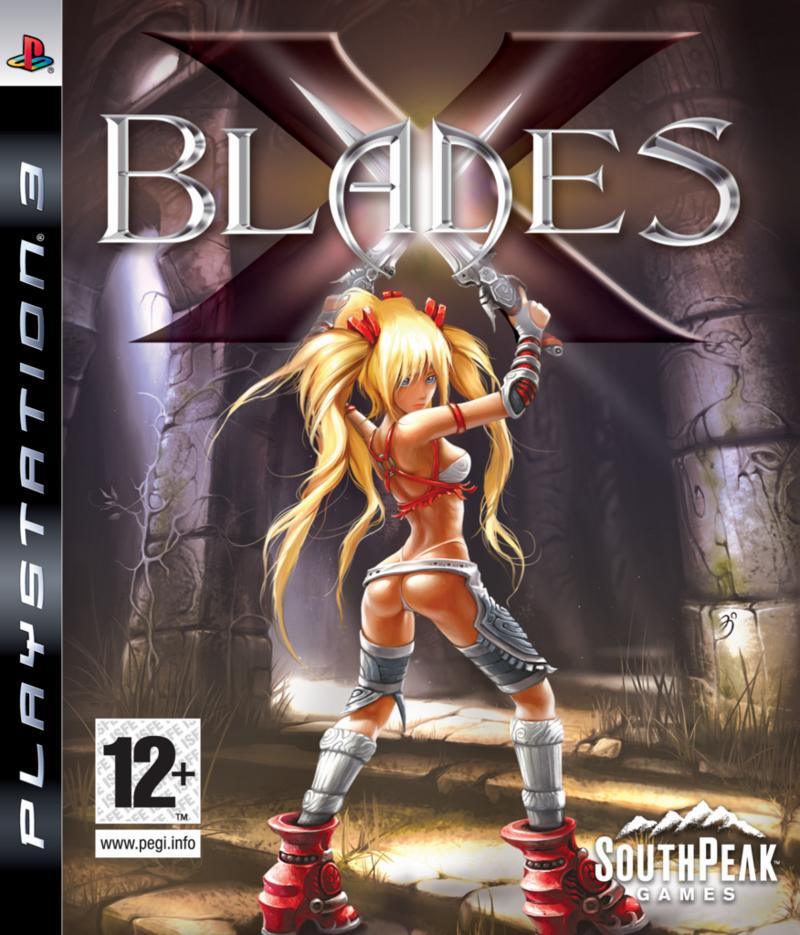 XBlades PS3 jaquette01