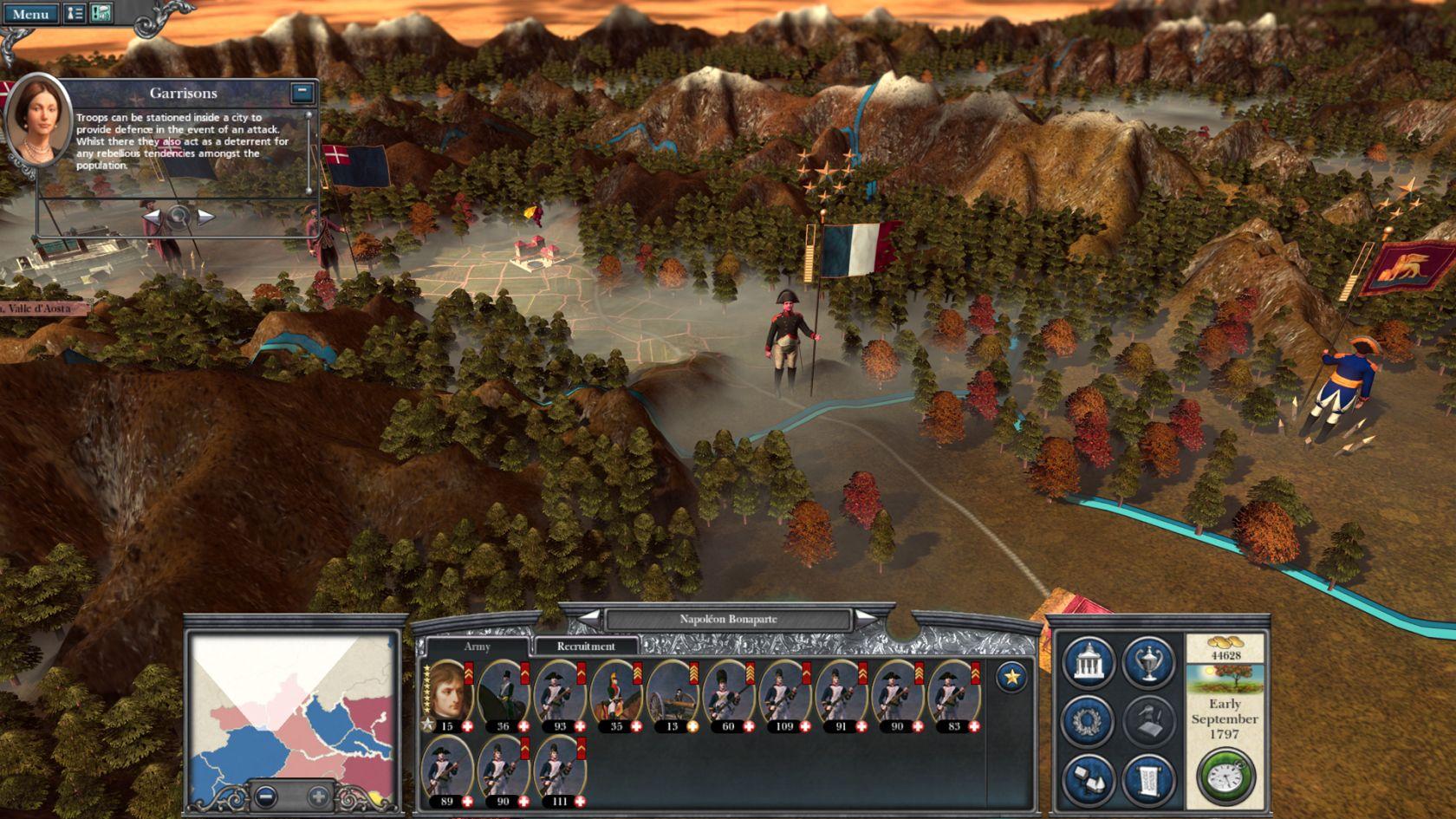 Napoleon  Total War-PCScreenshots18925Campaign italian valley