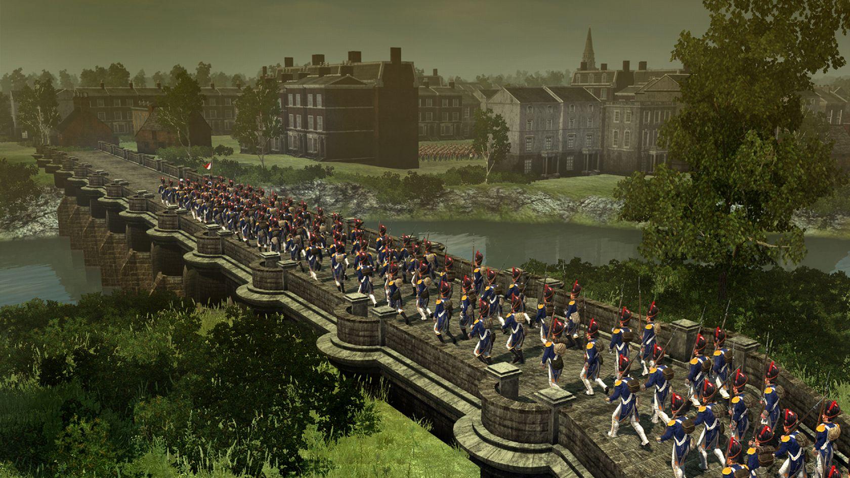 Napoleon  Total War-PCScreenshots18926crossing the bridge
