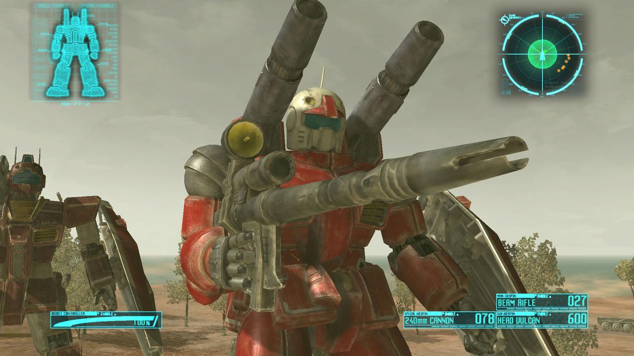 GundanCrossfire PS3 Editeur 001