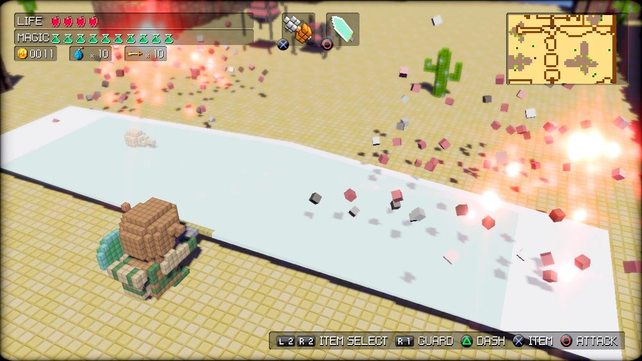 3DdotGameHero PS3 Edit039