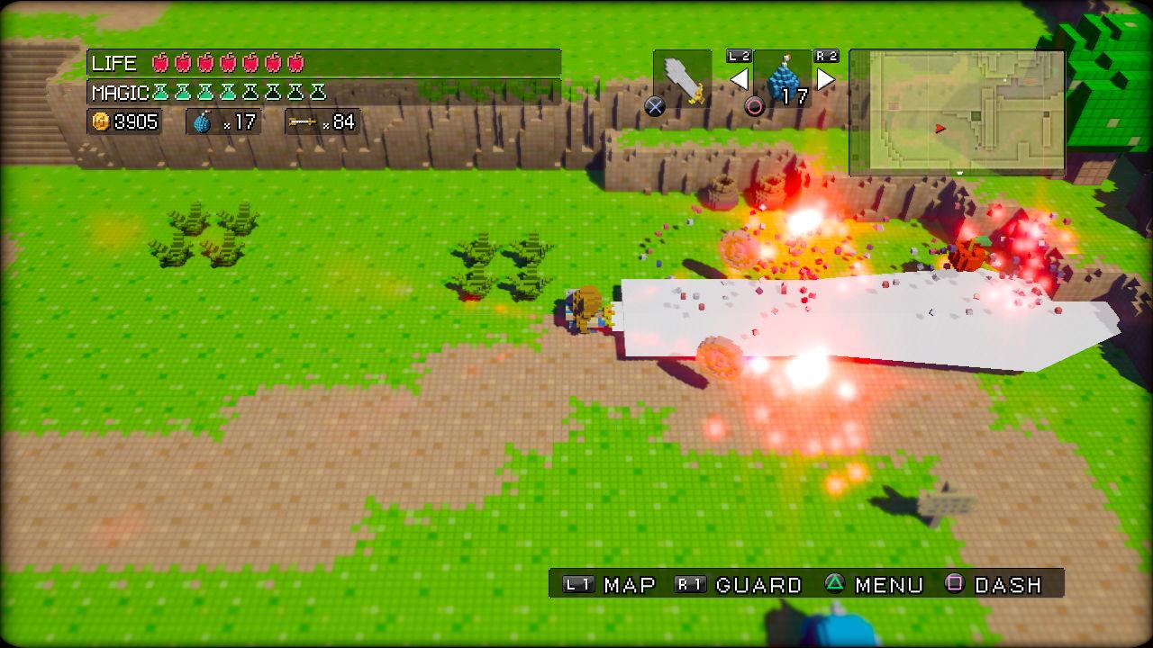 3DdotGameHero PS3 Edit46