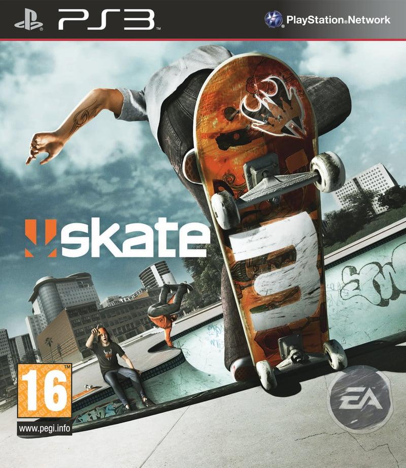 Skate 3 PS3 jaquette