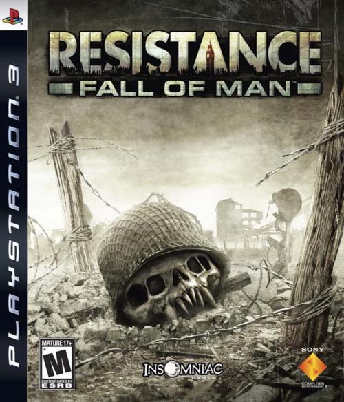 ResistanceFoM PS3 Jaquette 001