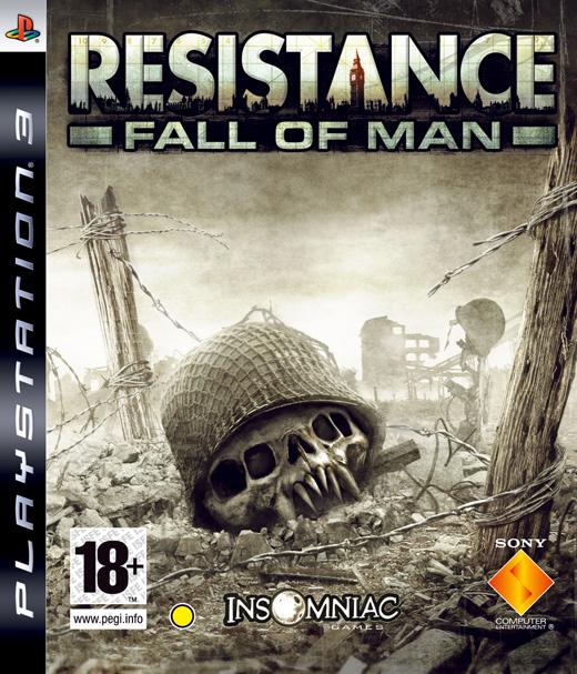 Resistance FallOfMan PS3 Jaquette