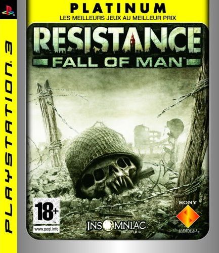 Resistance PS3 JaquettePlatinum