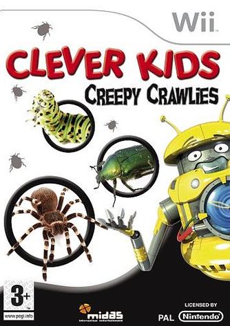 CleverKidsCreepyCralies Wii jaquette