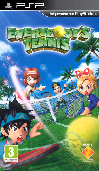 EverybodysTennis PSP Jaquette