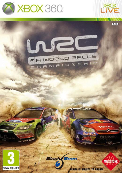 WRC Xbox360 Jaquette