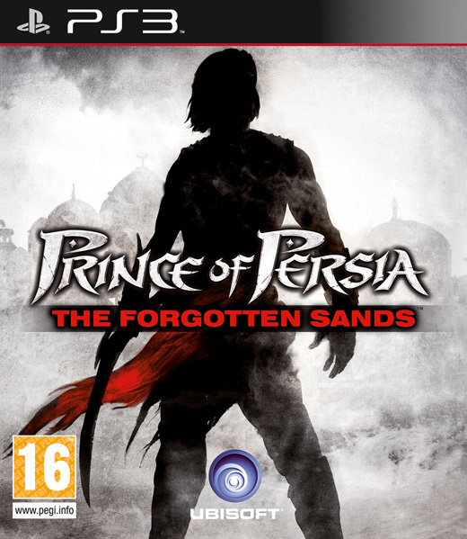 Prince of Persia Les Sables Oublies PS3 Jaquette