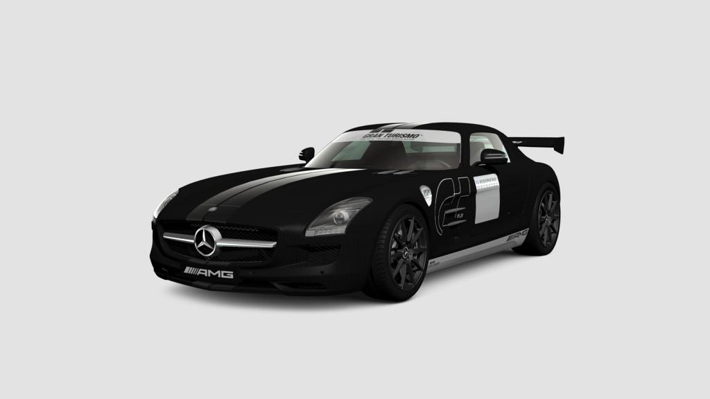 GT5 Mercedes-BenzSLSAMGStealth