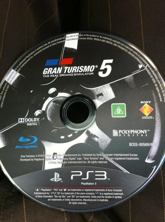 Gran Turismo 5 CD Disc Rumor