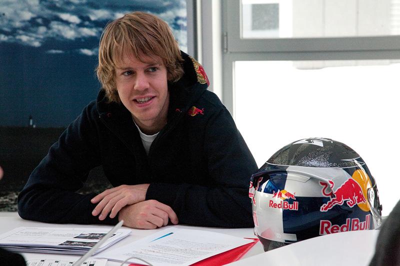 Sebastian Vettel pilote F1