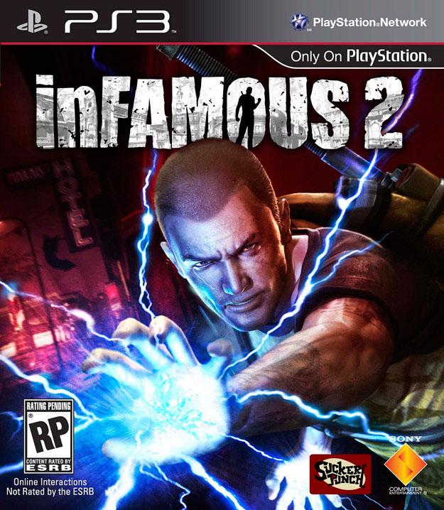 inFAMOUS2 PS3 Jaquette 002