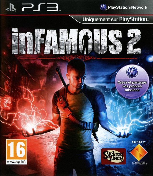 inFAMOUS2 PS3 Jaquette 003