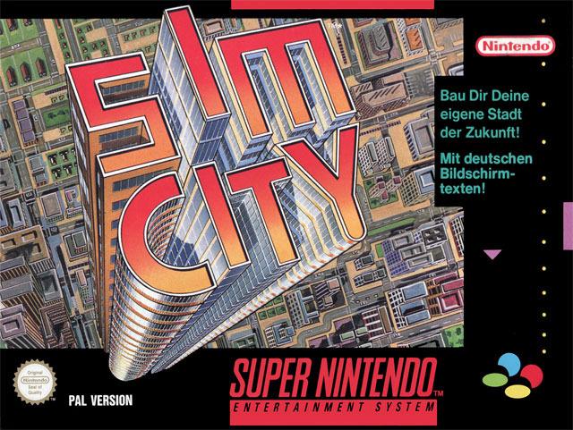 SimCity Snes Jaquette001