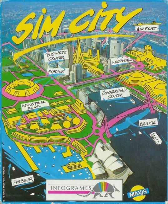 SimCity CPC Jaquette001