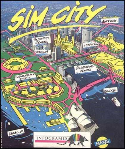 SimCity C64 Jaquette001