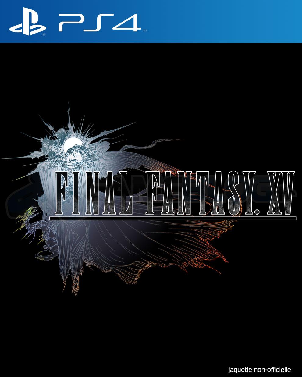 FinalFantasyXV PS4 Jaquette 002