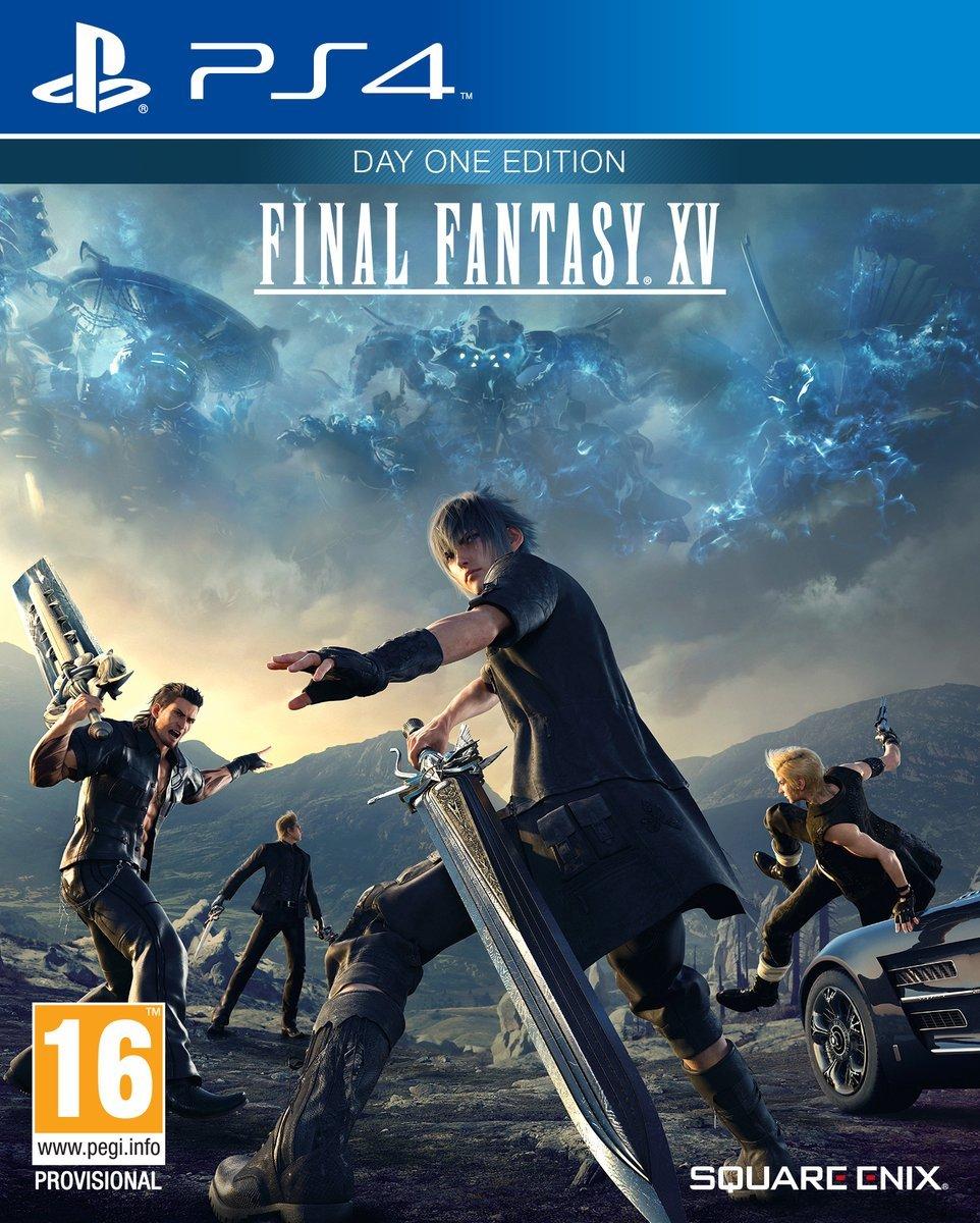 FinalFantasyXV PS4 Jaquette 003
