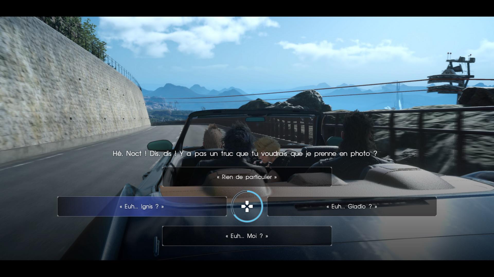 FinalFantasyXV PS4 Test 117