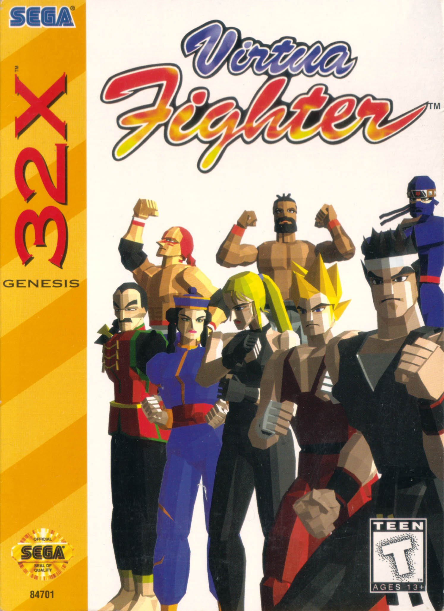 VirtuaFighter 32X jaquetteUS