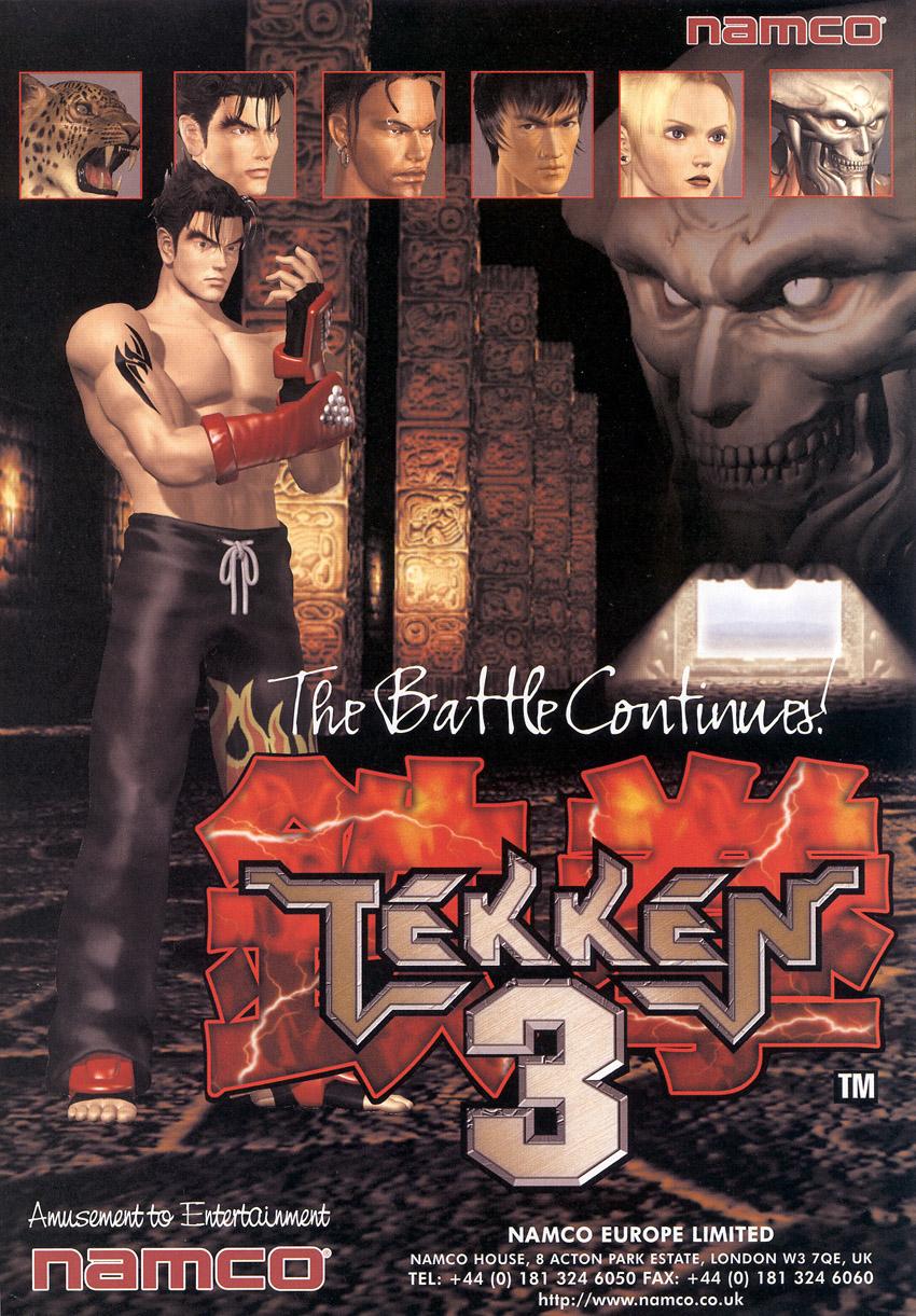 Tekken3 Arcade Jaquette 001