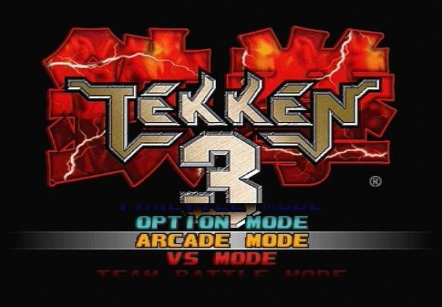 Tekken3 PS Editeur 001
