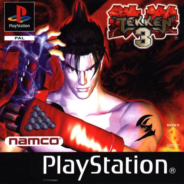 Tekken3 PS Jaquette 001