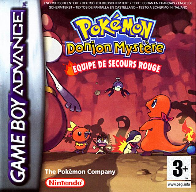 PokemonDonjonMystere-EquipedeSecoursRouge GBA Jaquette 002