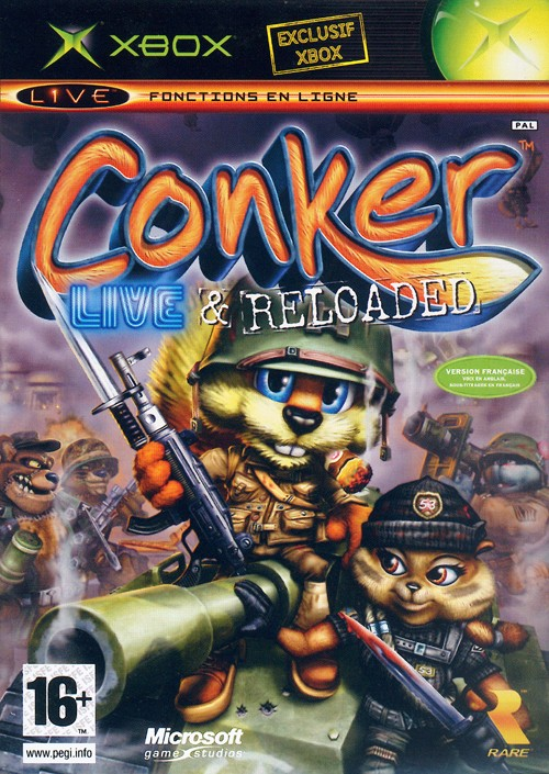 Conker Xbox Jaquette 001