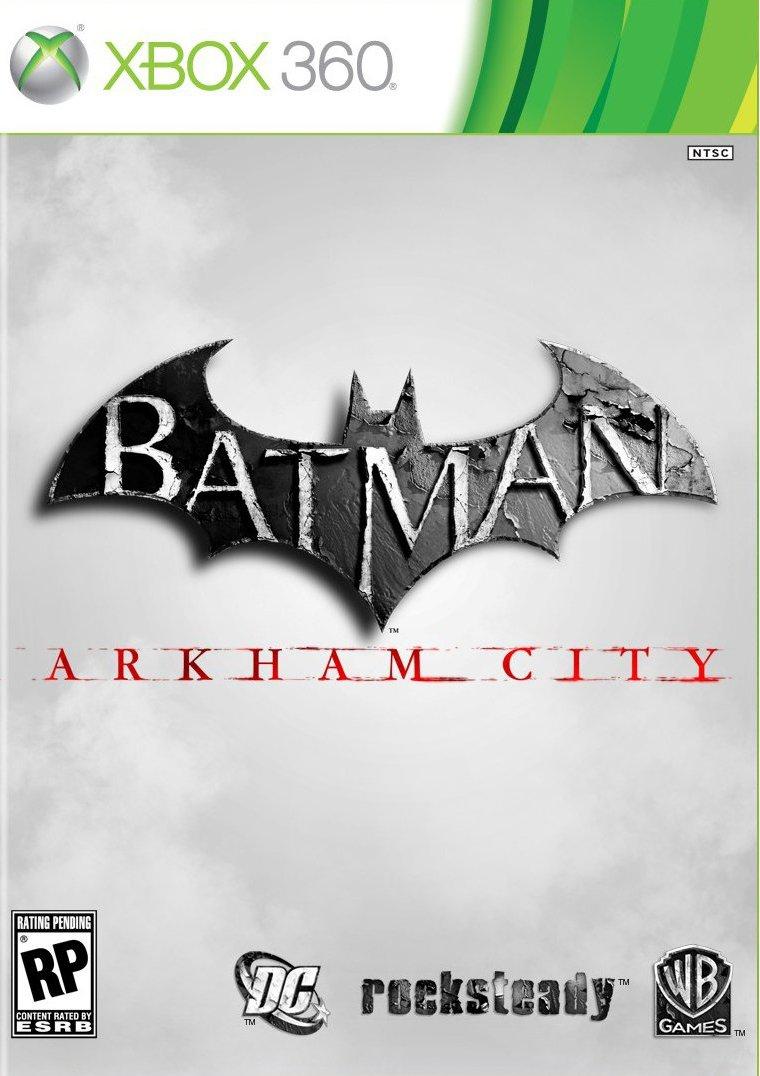 Batman-ArkhamCity 360 Jaquette 001