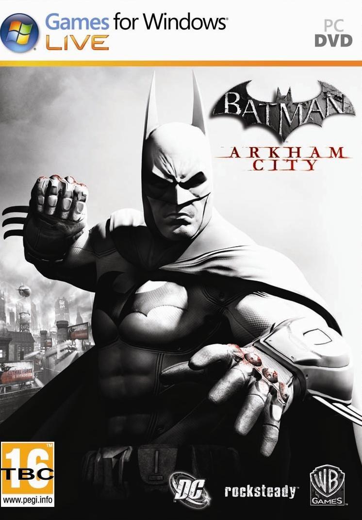 Batman-ArkhamCity PC Jaquette 002