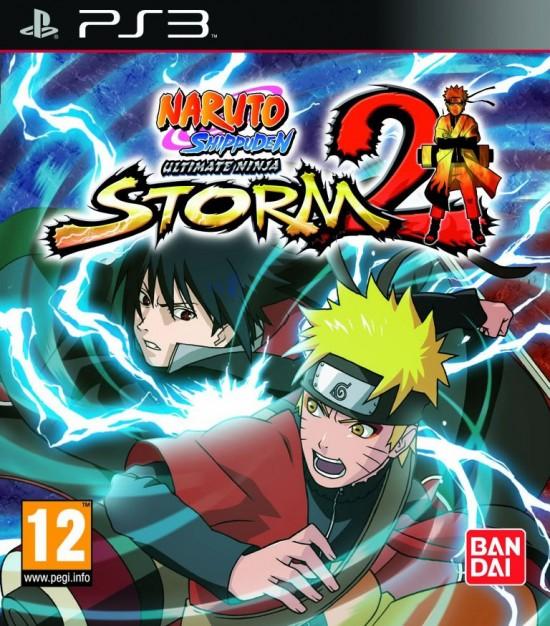Naruto Shippuden Ninja Storm 2 PS3 Jaquette