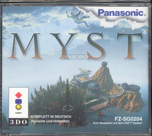 Myst 3DO jaquette