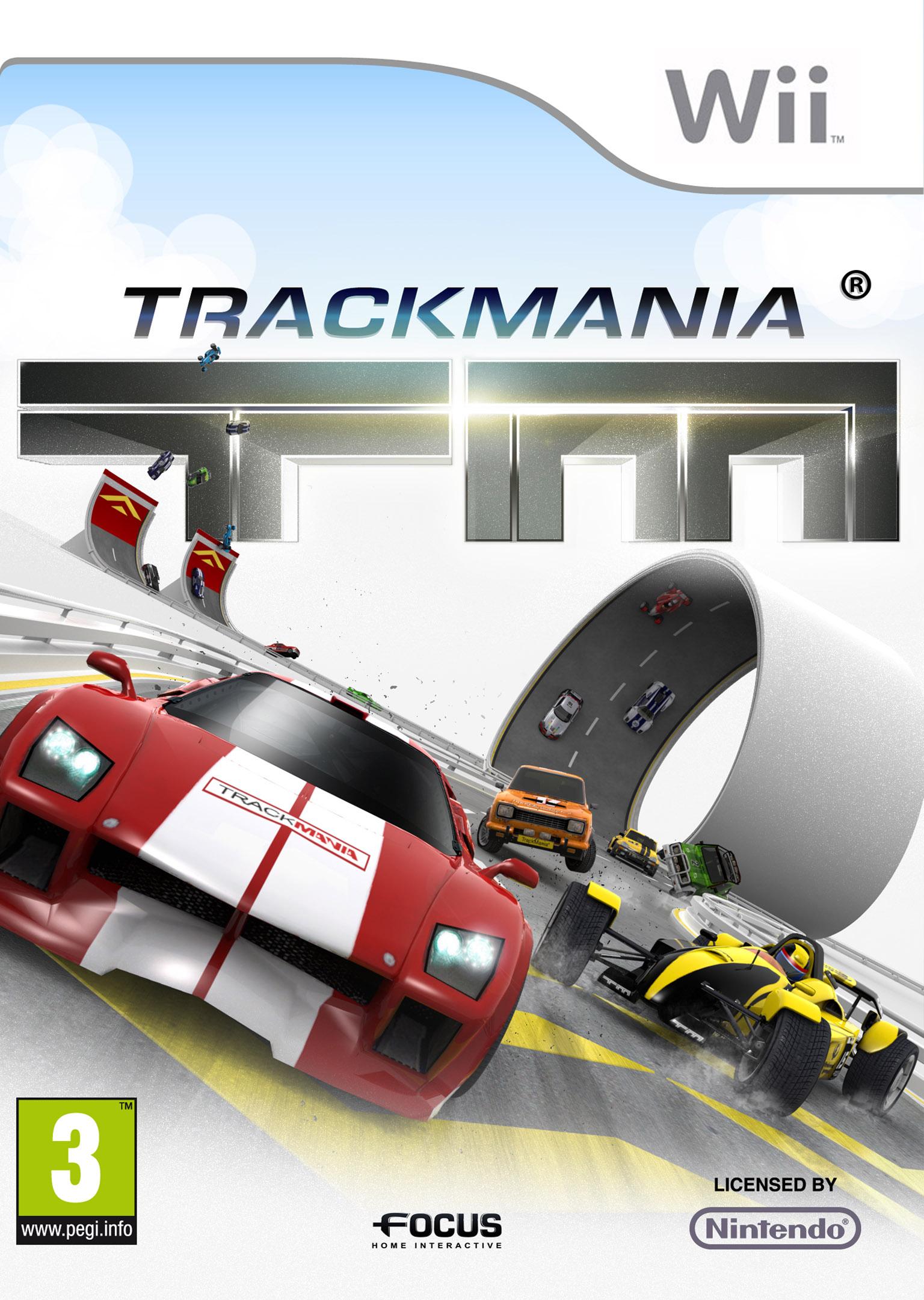 Session Live de Trackmania sur Wii - Insertcoins fait la course !