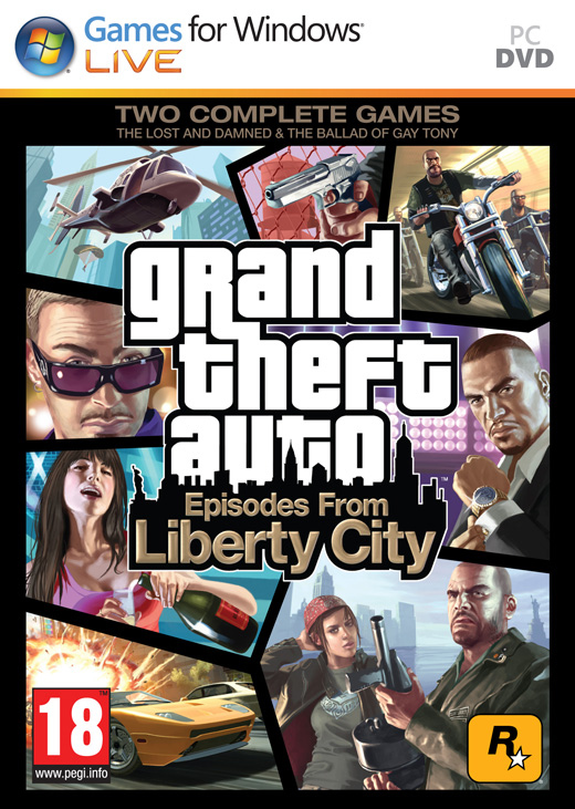 Episodes From Liberty City PC jaquette