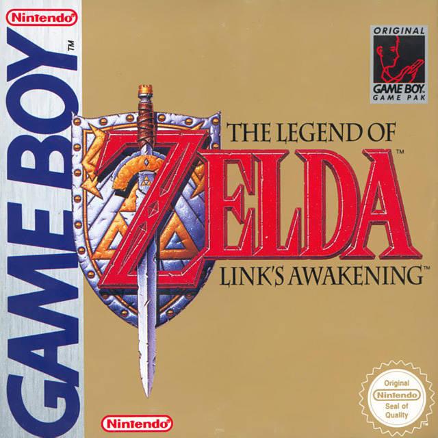 TheLegendofZelda LinksAwakening GameBoy Jaquette