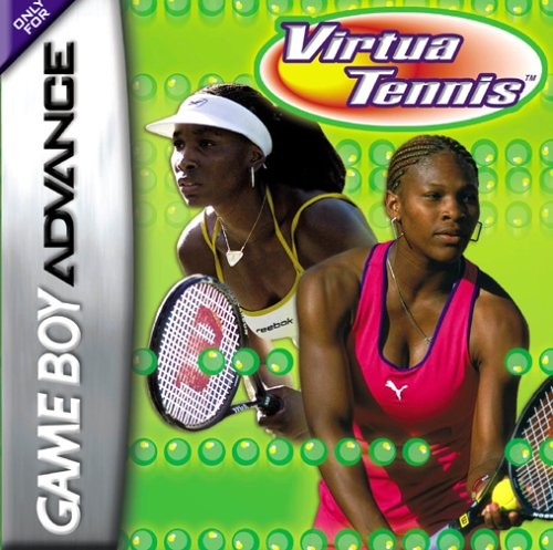 VirtuaTennis GBA Jaquette