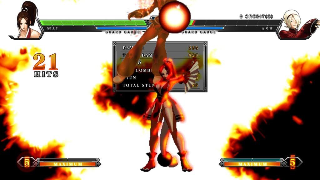 KOF XIII Arcade 45