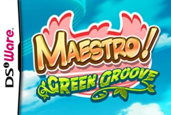 Maestro-JumpinMusic-GreenGrove DSiWare Jaquette 001